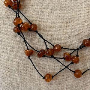 Jewelry - Amber Bead Necklace